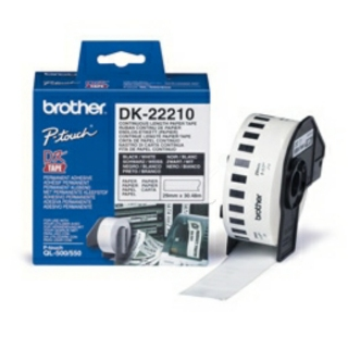Brother DK22210 BROTHER P-TOUCH QL550 PAPER