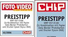 Preistipp im Druckerpatronentest der Chip und Foto Video