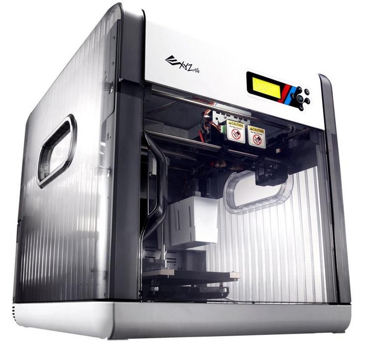 DAVINCI 2.0 3D Drucker Seitenansicht