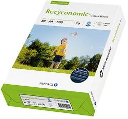 recyceltes Druckerpapier