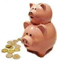 Immer wo das Tintenmarkt Sparschwein erscheint sparen Sie mit den Tintenmarkt Sparpaketen