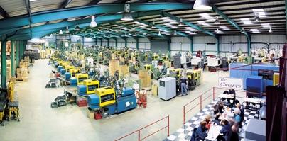 Produktionshalle von Jettec für Druckerzubehör