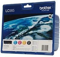 Multipack für Brother LC 985 Druckerpatronen