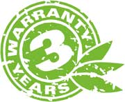 3 Jahre Garantie Logo
