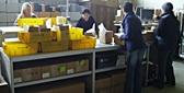 EDV Arbeitsplatz im Tintenmarkt Lager