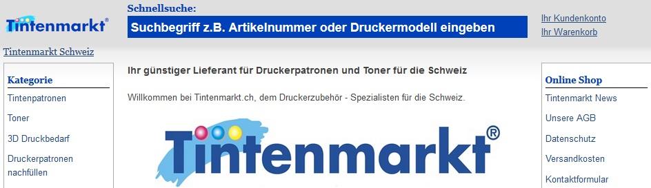 Tintenmarkt.ch