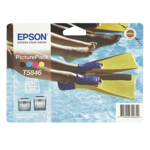 Epson T58464010 original Druckkopf 4-Farb +150