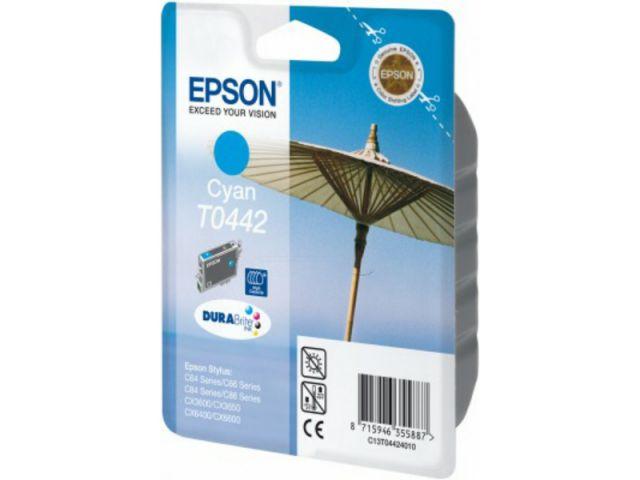 T04424010 Druckerpatrone mit 13 ml für Epson Stylus C64 / C66 / C84 / C86 / CX6400 cyan