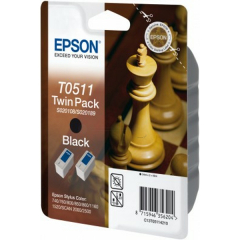 Epson C13T05114210 Doppelpack Tintenpatronen