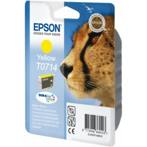Epson C13T07144011 Tintenpatrone mit 5, 5 ml