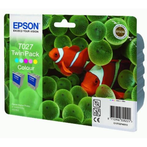 Epson C13T02740310 Doppelpack Tintenpatronen