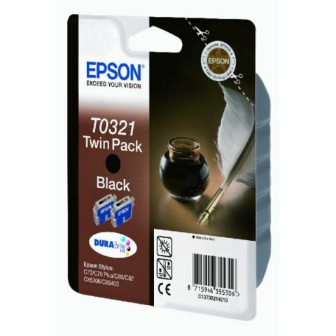 Epson C13T03214210 Doppelpack Tintenpatronen