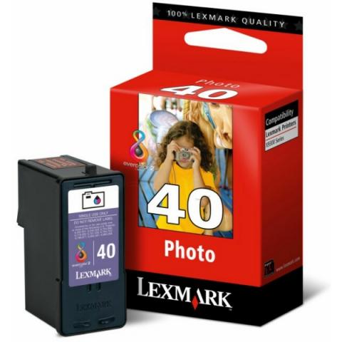 Lexmark 18Y0340E Druckerpatrone NO40 für ca.