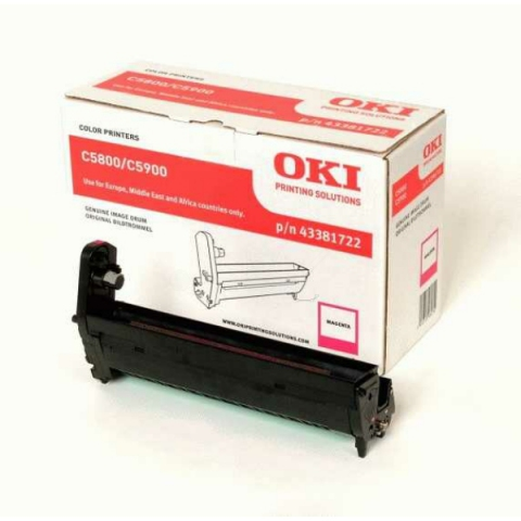 OKI 43381722 Drum Kit für C5550MFP , C5800 ,