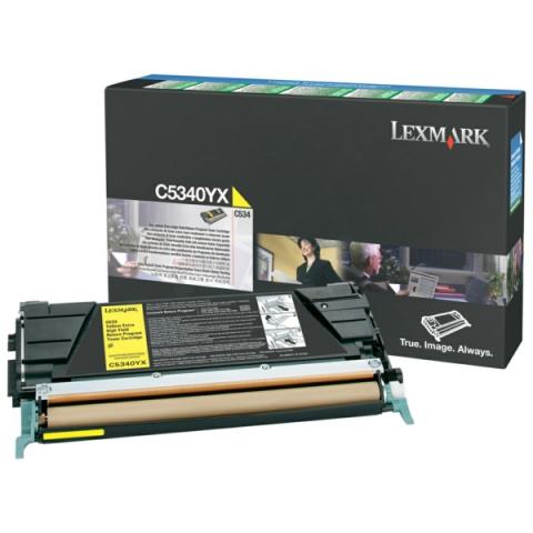 Lexmark 00C5340YX Toner gelb Prebate 00C5340YX