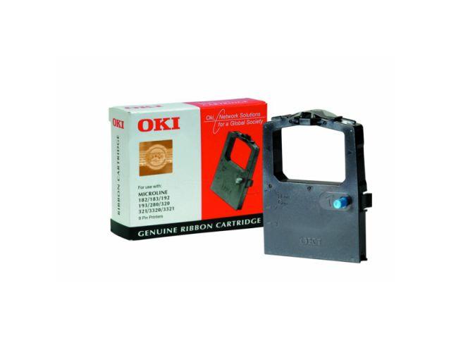 OKI Farbband 9002303, schwarz