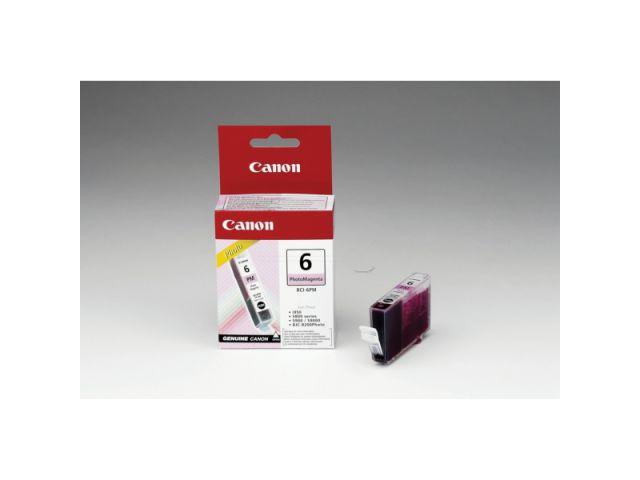 BCI-6PM original Foto Druckerpatrone von Canon für optimale Druckergebnisse, photo magenta