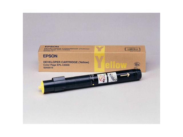 C13S050016 Toner original Epson für ca. 6000 Seiten, gelb