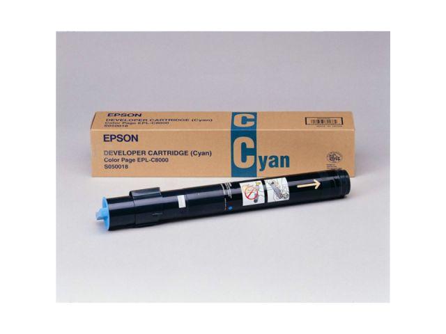 C13S050018 Toner original Epson für ca. 6000 Seiten, cyan