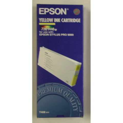Epson C13T408011 Tintenpatrone original mit