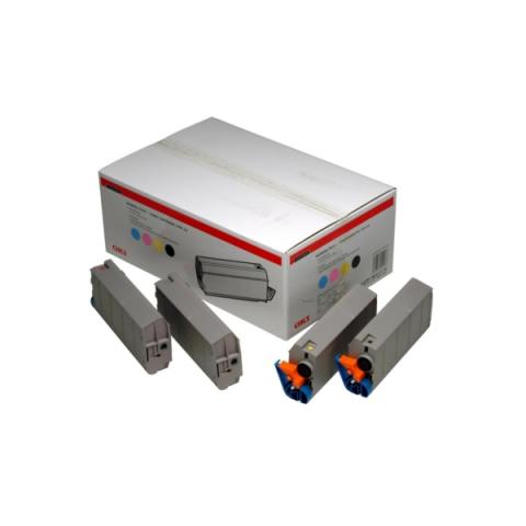 OKI 1101101 Toner Value-Kit original (bk, c,