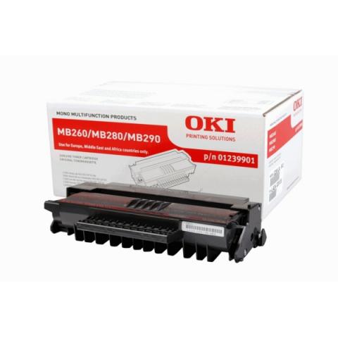 OKI 01239901Toner, original f�r ca. 3.000