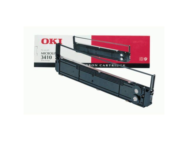 Original OKI Nylonband für ca. 4 Mio Zeichen, schwarz, Art.Nr. 09002315