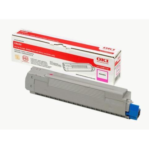 OKI 43487710 Toner für C 8600 , C8600CDTN ,