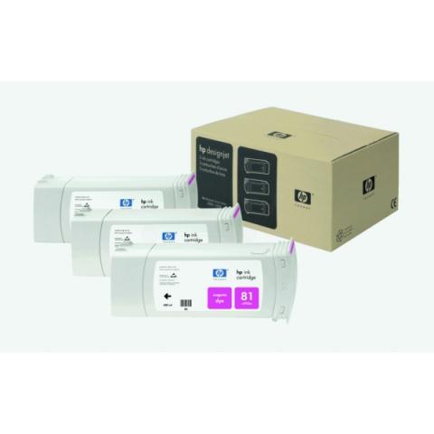 HP C5068A Tintenpatrone 3 x 680 ml HP , NO 81