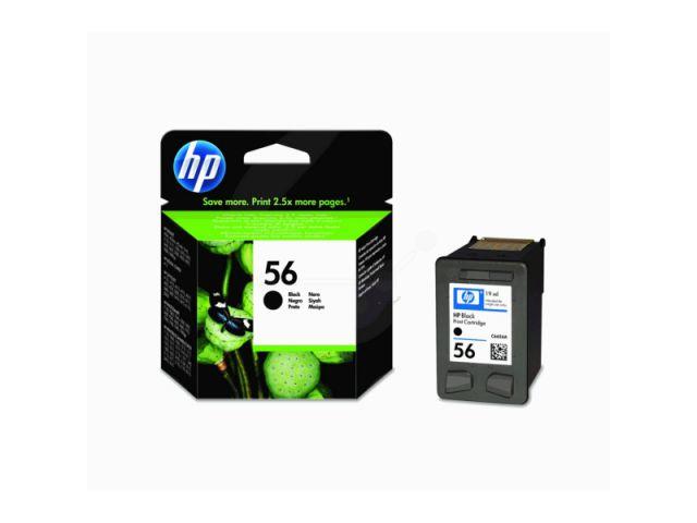 C6656AE Druckerpatrone HP56 mit 19ml / 520 Seiten für HP Deskjet 5150 / 5550PSC1210 / PSC2400 /