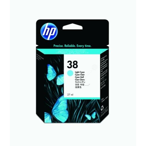 HP C9418A HP Tintenpatrone NO 38 mit 27 ml für