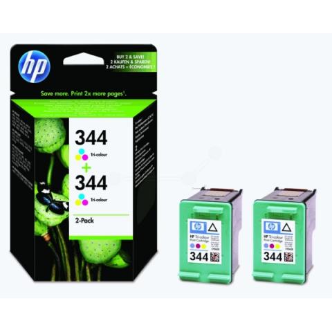 HP C9505EE Druckerpatrone HP344 Doppelpack 14ml