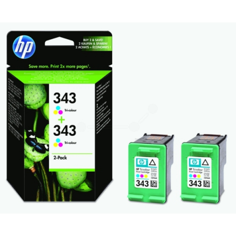 HP CB332EE NO 343, original Druckerpatrone mit