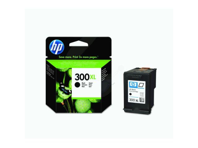 CC641EE HP 300 XL Druckerpatrone mit Druckkopf mit 12ml Kapazität, black