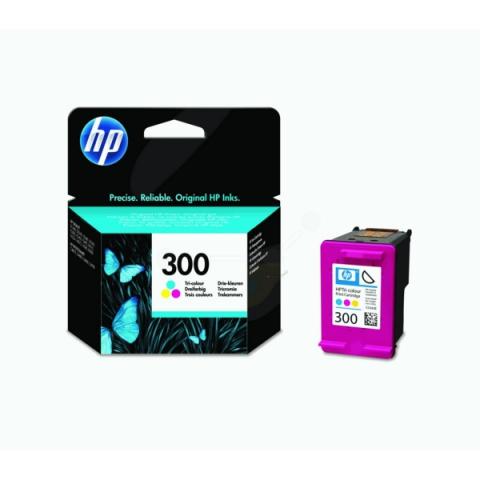 HP CC643EE HP 300 Druckerpatrone mit Druckkopf