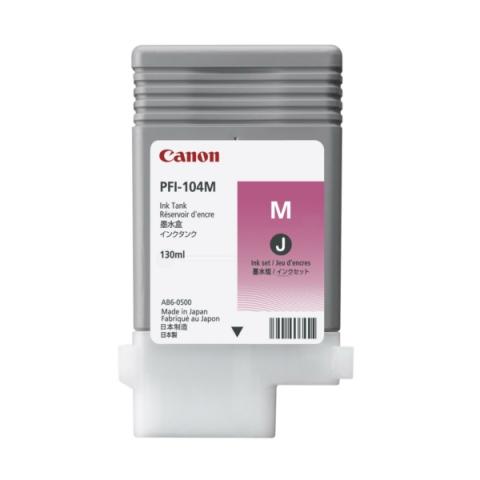 Canon Tintenpatrone PFI-104M mit 130 ml, magenta