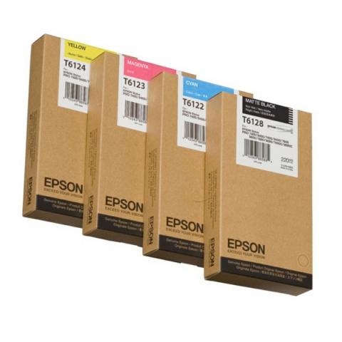 Epson T612800 Tintenpatrone original für Plotter