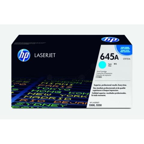 HP C9731A Toner für ColorLaserjet 5500 , 5500DN