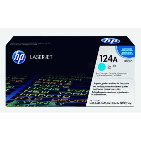 HP Q6001A Toner original HP 124A, Kapazität für