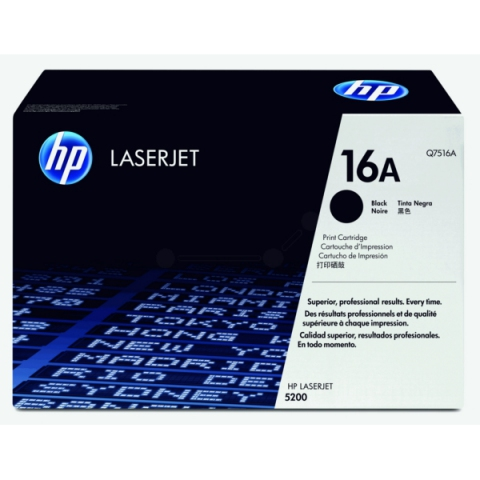 HP Q7516A Toner für HP Laserjet 5200 , 5200DTN ,