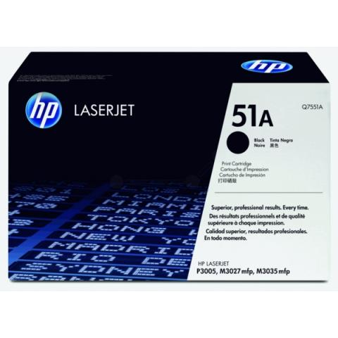 HP Q7551A Toner passend für Laserjet M3027 ,