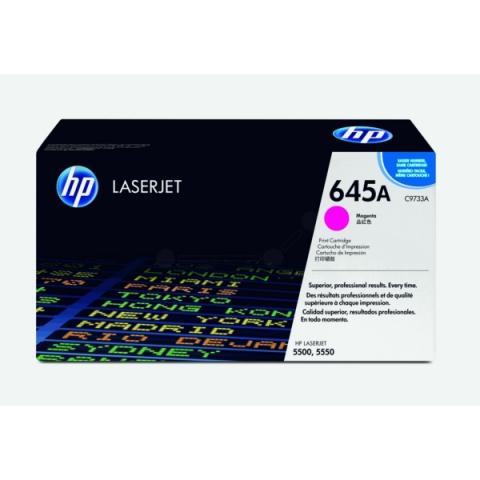 HP C9733A Toner für ColorLaserjet 5500 , 5500DN