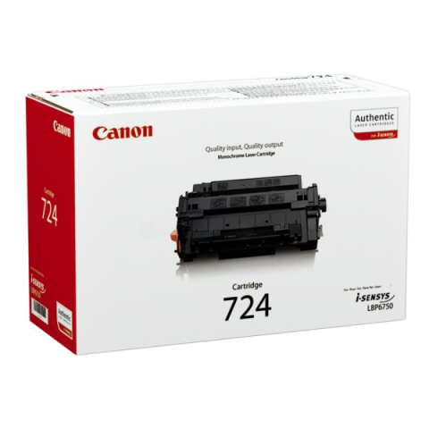 Canon 3481B002 Toner, original 724, Kapazität