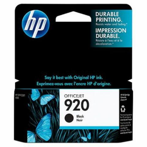 HP CD971AE HP Tintenpatrone 920 mit einer
