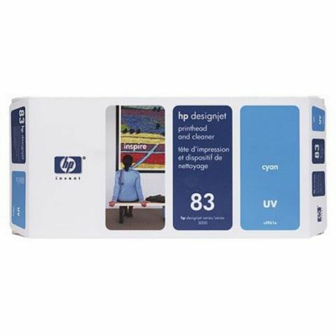HP C4961A Druckkopf cyan mit UV-Tinte +