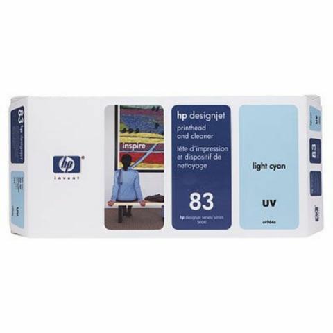 HP C4964A Druckkopf cyan hell mit UV-Tinte +