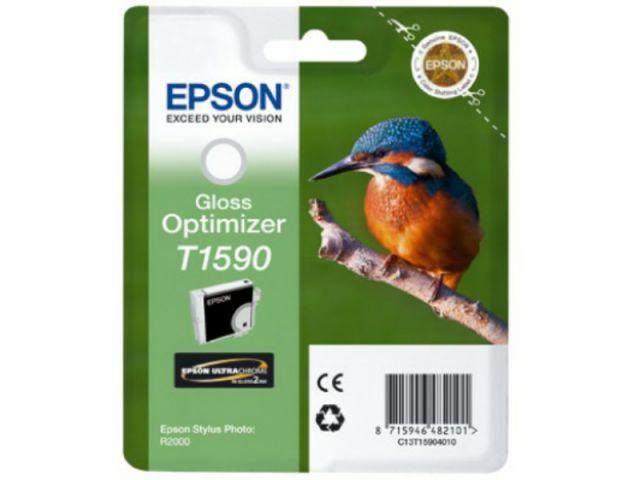 C13T15904010 Druckerpatrone original Epson mit 17 ml Inhalt, Glanzverstärker, farblos