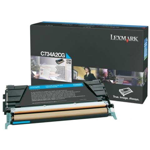 Lexmark 0C734A2CG Toner für C734 , C736 , X734