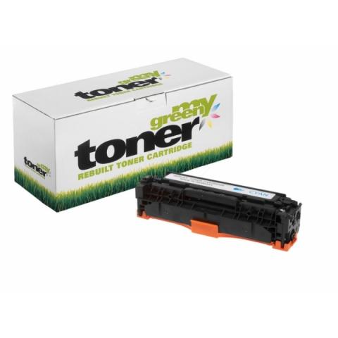 My Green Toner Toner, ersetzt HP CC531A oder