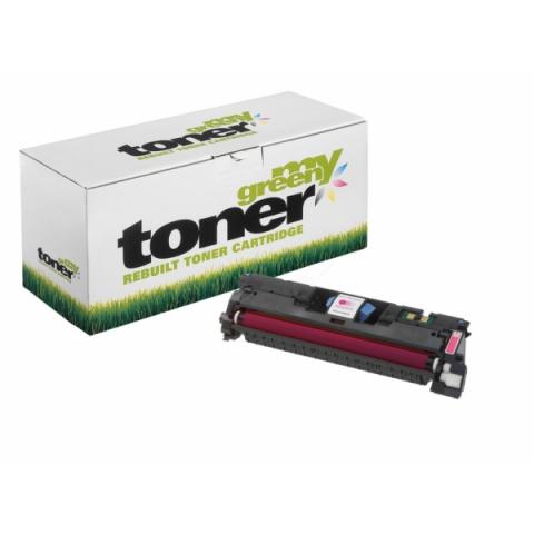 My Green Toner Toner, ersetzt HP Q3963A für HP